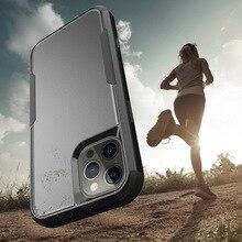 เกราะไฮบริดกันกระแทกกันชนกันชนกันชนสำหรับ iPhone 12 Pro Max 11 XR X XS 8 7 Plus SE 2020ด้านหลัง
