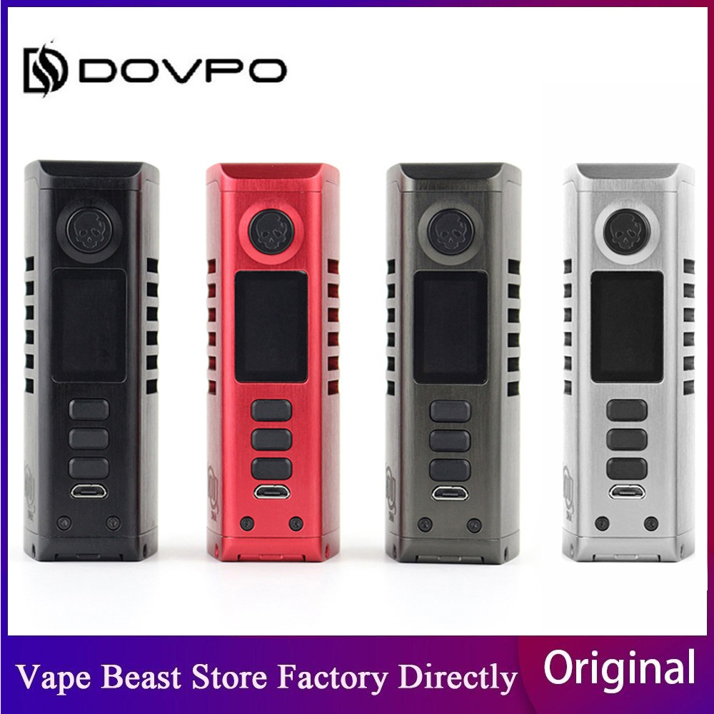 Pre-order Dovpo Odin Mini 75W DNA75C TC Box Mod wi/ DNA75C Chipset & 75W Max Output 0.96'' Screen E-cig Vape Mod VS Topside Dual image