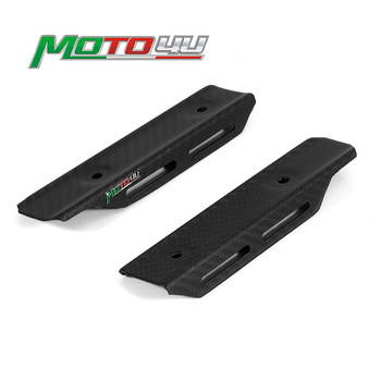 100% Carbon Fiber Motorcycle Side Cover Side Panel Fairing 1 Pair Matt For Kawasaki Z900RS Z900 RS Z 900 2018 2019