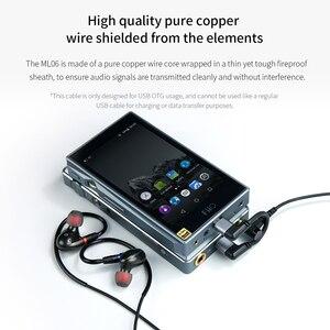 Image 5 - FiiO Cable de Audio para teléfonos móviles y reproductores, Micro USB, Hifi, ML06, para MOjO FiiO Q1II/Q5/M7 DAP