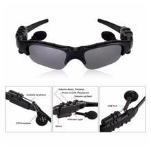 Men Outdoor glasses Bluetooth sunglasses wireless headphones sports listening to