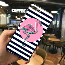News Phone Case For iPhone X 7 8 6 Plus XS XR Flamingo Shell Cases On 5S 6S Soft TPU Silicone Back Cover