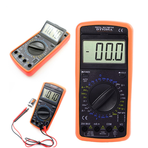 Image 2 - WHDZ DT9205A Professional Digital Multimeter Electric Handheld  Ammeter Voltmeter Resistance Capacitance hFE Tester AC DC LCD
