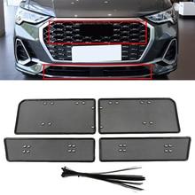Insert-Net Front-Grille Audi Q3 Mesh Car Screening for Stainless-Steel