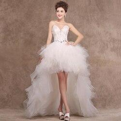 Gryffon Wedding Dress Sexy Feather Strapless Wedding Gowns Princess Luxury Crystal Wedding Dresse Can Be Customized
