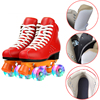 2021 Women Flashing Skate Shoes 4 Wheels Inline Skates Shoes Quad Roller Skating Shoes Sneakers For Adult Outdoor Gym Sports