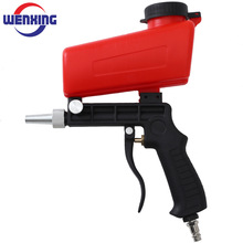 Spray-Gun Sandblasting-Gun Pneumatic-Tool Gravity 90psi Adjustable WENXING Small
