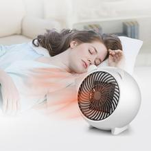 Enchufe UE/EE. UU. 220V 250W calentador eléctrico portátil Mini ventilador calentador de escritorio hogar estufa radiador calentador máquina para invierno