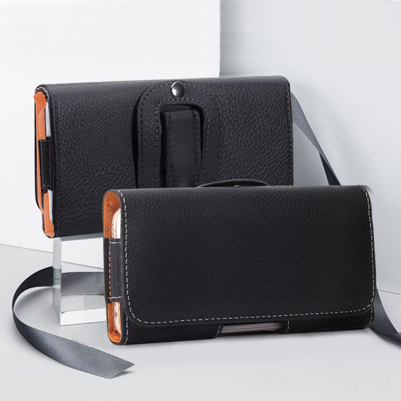 Universal <font><b>Belt</b></font> Clip Phone Bag For <font><b>iPhone</b></font> 11 Pro Max Business Plain <font><b>Case</b></font> for <font><b>Iphone</b></font> <font><b>Xr</b></font> Xs 7 8 6 Plus Waist Bag Holster 2019 New image