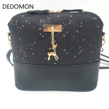 Роскошные сумки женские кожаные дизайнерские женские сумки через плечо сумка-мессенджер в виде ракушки Женская мини-сумка с оленем игрушка
