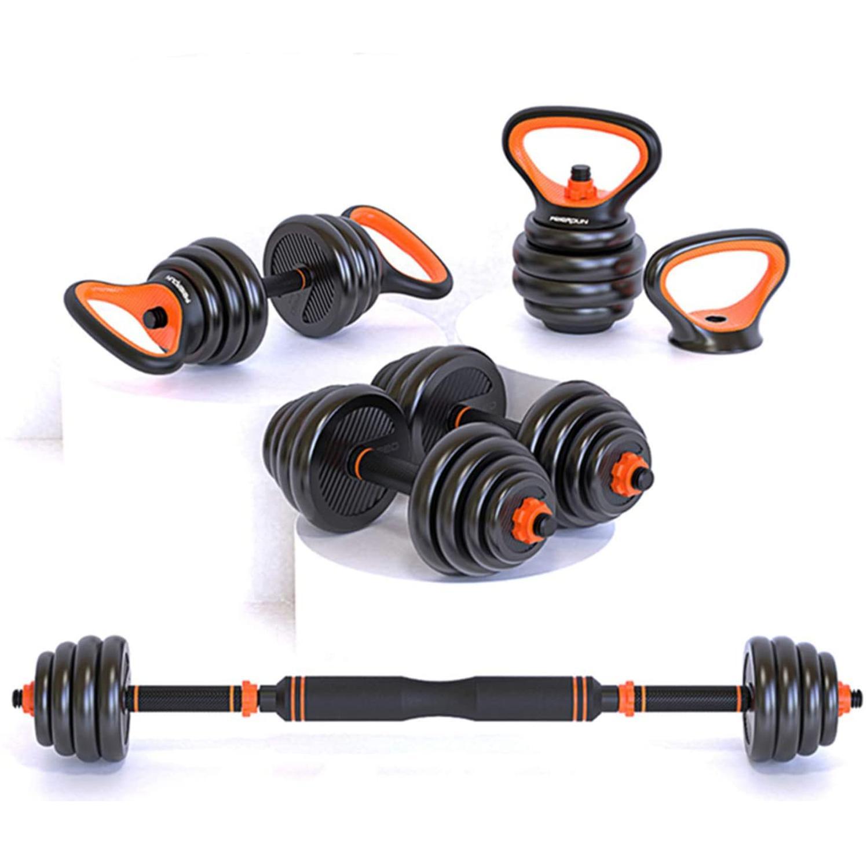 Adjustable Dumbbell Set Barbell 15kg 20kg 24/25kg 40kg Weights Gym Equipment For Home Fitness