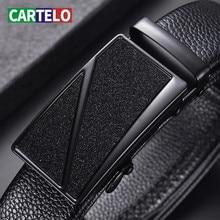 Belt Business Cartelo Black Best-Quality Auto Men's