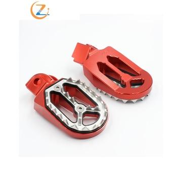 Nuevas clavijas de pedales de pie de 6 colores, accesorios para motocicleta, reposa para moto de cross KTM 85cc-530cc, Motocross todoterreno