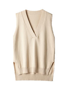 Sweater Vest V-Neck Loose Wild Autumn Korean Winter Sleeveless And New