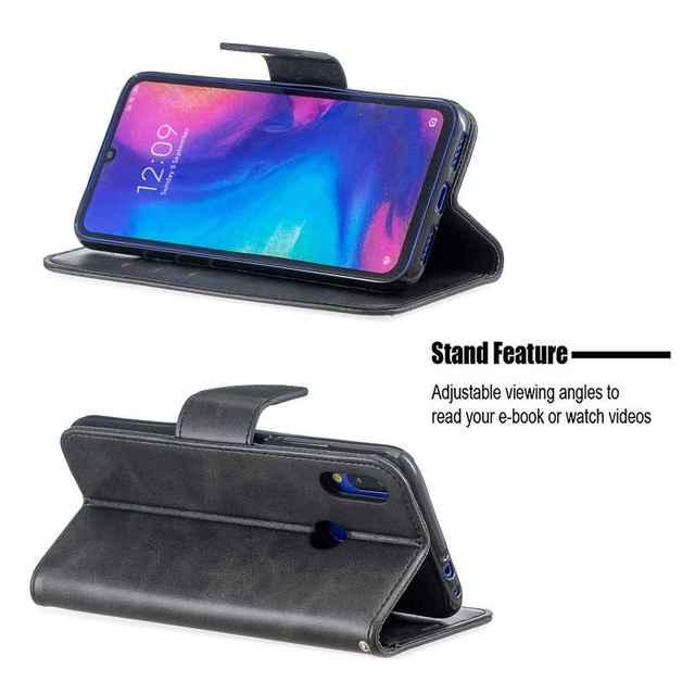 Skóra owcza obudowa do xiaomi Redmi Note 8T 7 6 5 4 10 Pro 4X 8A 7A 6A 5A 5 Plus K20 Pro Pocophone F1 portfel, podstawka, z klapką przypadku