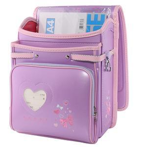 Image 5 - Coulomb crianças saco de escola meninas miúdo ortopédico mochila estudantes da escola bookbags japão plutônio randoseru bebê sacos 2020 novo estilo