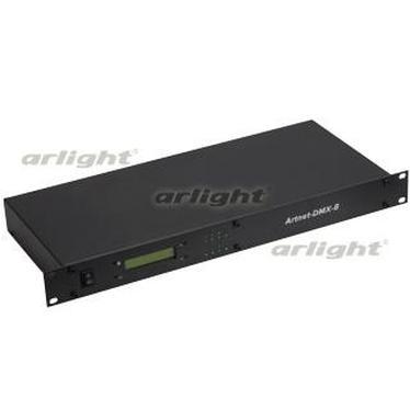 018607 Controller LT-Artnet-DMX-8 (220 V, 4096CH) ARLIGHT 1-pc