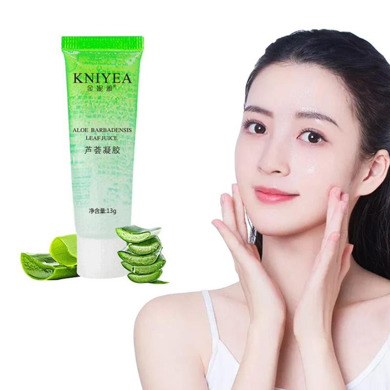 13ml Pure Aloe Vera Gel Hyaluronic Acid Plants Extract Base Primer Repair Gel Moisturizing Skin Care Face Cream Makeup Cosmetic