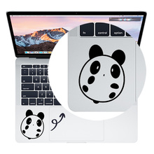Cute Panda Partial Sticker for Huawei Matebook Touchpad Sticker for Apple Macbook Pro/Air/Retina 11 12 13 15 Trackpad Decal