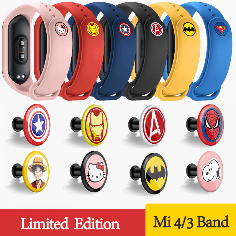 Watch Band For Xiaomi MI Band 4 3 2 Strap Replacement Silicone Wrist Smart Bracelet New Watch Strap For Miband 4 3 NFC Original