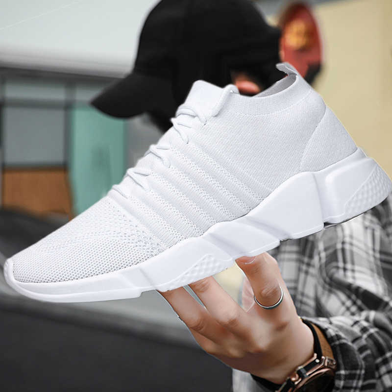 2020 new men's casual shoes white
