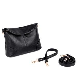 Image 5 - Bolso de cuero de lujo para mujer, diseñador para pequeña de hombro y mano bandolera, 2020