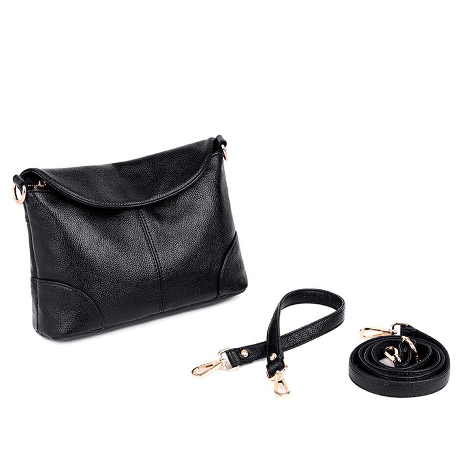Image 5 - Leather Luxury Women Handbags Designer Messenger Bag Small Ladies Shoulder Hand Crossbody Bags For Women 2020 bolsas de mujerShoulder Bags   -