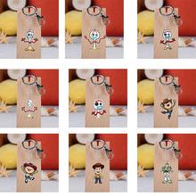 Toy story 4 Forky Woody Aliens Buzz Doll śliczne brelok brelok dekoracja torby smycz na telefon komórkowy portfel portmonetka łańcuch dzieci prezent tanie tanio Prettysoul Acrylic Ornament cartoon keychain