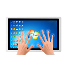 """21.5 Inch Industrial Panel Mini all-in-one PC 19"""" 17"""" Embedded Tablet Computer with Capacitive Screen 8G RAM 128G SSD Wifi Com"""