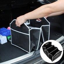 Auto vano New CAR Trunk Organizer Auto Giocattoli Contenitore di Conservazione Degli Alimenti Scatola di Sacchetti Per Lo Styling Auto Accessori Interni Forniture Gear