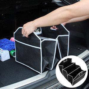 Image 1 - CAR partment New Car Trunk Organizer Car Toys Food Storage Container Bags Box Styling Auto Interior Accessories Supplies Gear