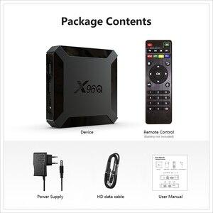 Image 5 - テレビボックスアンドロイド10スマートtvボックスX96Qミニtvbox allwinner H313クアッドコア4 18k 60fps 2.4 3g wifi google playstore youtube X96 tvボックス