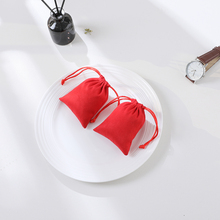 Pouch Gift-Packaging Jewelry-Bag Wedding-Lipstick Velvet Custom Flannel 50 Makeup-Bags