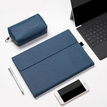 """Tablet Protective Case Sleeve for Microsoft Surface Cover 12"""" Trifold Stand Pouch Solid Women Men Tablet bag for surface pro 6 7"""