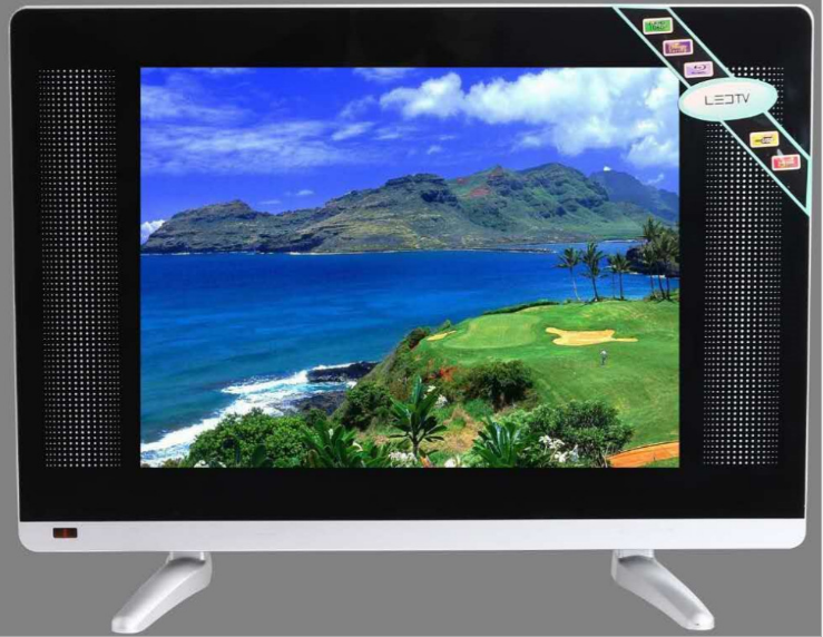 4:3 Promotion LED TV 15 inch Television 15'' inch DVB-T2 S2 cheap led television TV title=