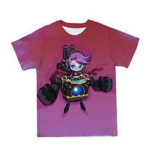 2021 Summer Children'S Clothing Boy And Girl T-Shirt 3d Printing Cute Animation Harajuku Fashion Short-Sleeved Casual Top 4T-14T