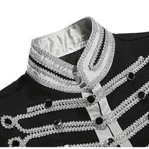 Image 3 - Мужская приталенная куртка Shenrun, блейзер в стиле милитари, однобортная драматическая сцена, вечерние костюмы размера плюс для выпускного вечера, 2019