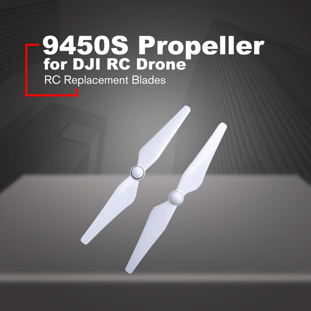 Self-tightening Propeller White Drone Props Spare Blades With Base Self-adjusting Props For DJI 9450S For Phantom 4/Pro