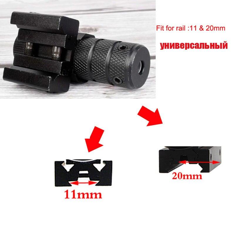 Snažni mini crveni točkasti laserski optički nišan tkač 11 / 20m - Lov - Foto 2