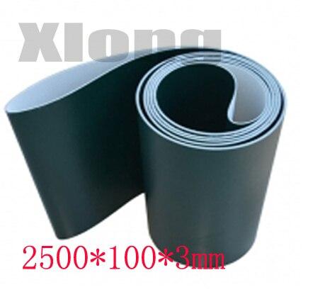 2500x100x3 mm  PVC Flat Belt Light Assembly Line Industrial Belt Conveyor Flat Belt Conveyor Climbing Belt