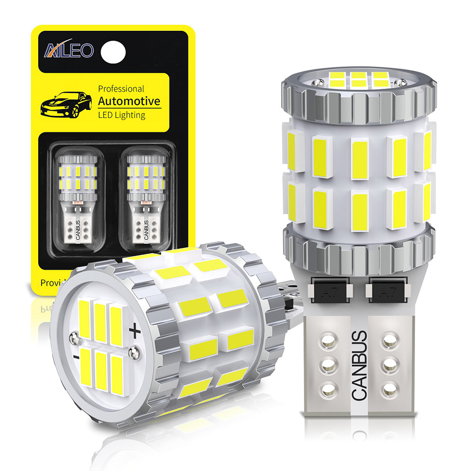 AILEO 2x T10 W5W led-lampen Canbus 168 194 3014 SMD Keil Parkplatz Licht Lizenz Platte Licht Freiheit Lichter Lesen lampen Weiß