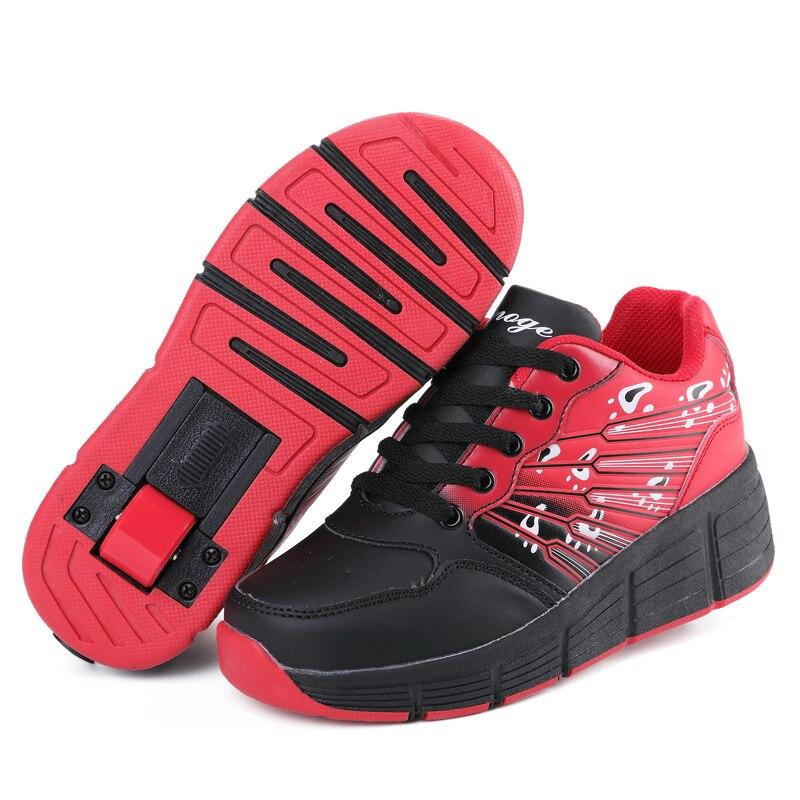 Chaussures à roulettes pour enfants baskets de sport