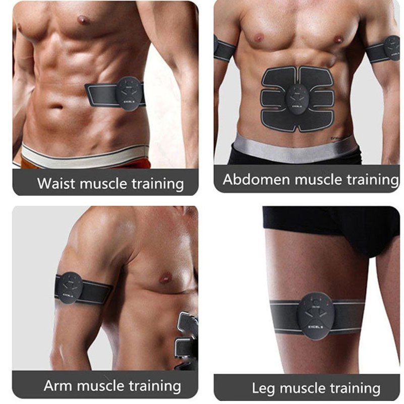 Eletric Muscle Stimulator ABS Muscle Stimulator Electric Stimulation Abdominal Belt EMS Trainer Massage Anti Cellulite Massager 3