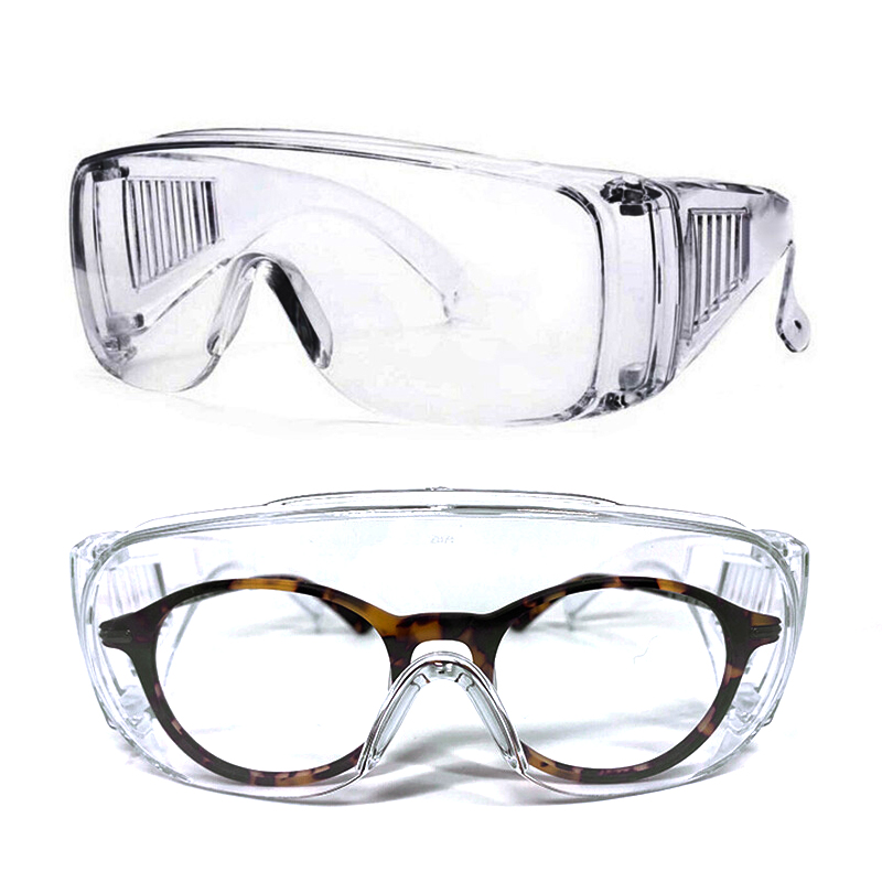 1pc 3M Safety Glasses Anti-shock PC Lens Goggles Anti-splash Anti-UV Windproof Riding Protective Glasses Working Eyewear