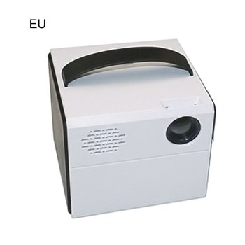 Portable LED True Stereo Super Sense Sound Quality Projector HD 1080P for office Home white color