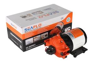 Image 4 - Seablo pompe à eau avec membrane, 12v, 7.0 GPM, 60psi, système hydroponique pour fontaine de jardin