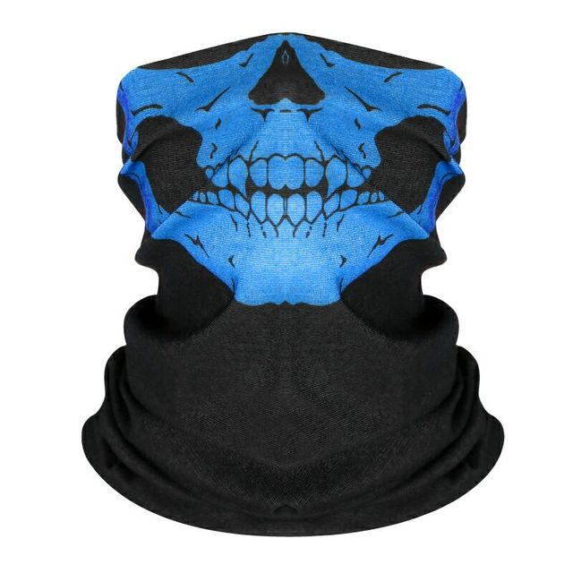 Scarf Mask Festival Motorcycle Face Shield Ghost Face Windproof Mask Sun Mask Balaclava Party Bicycle Bike Masks 3