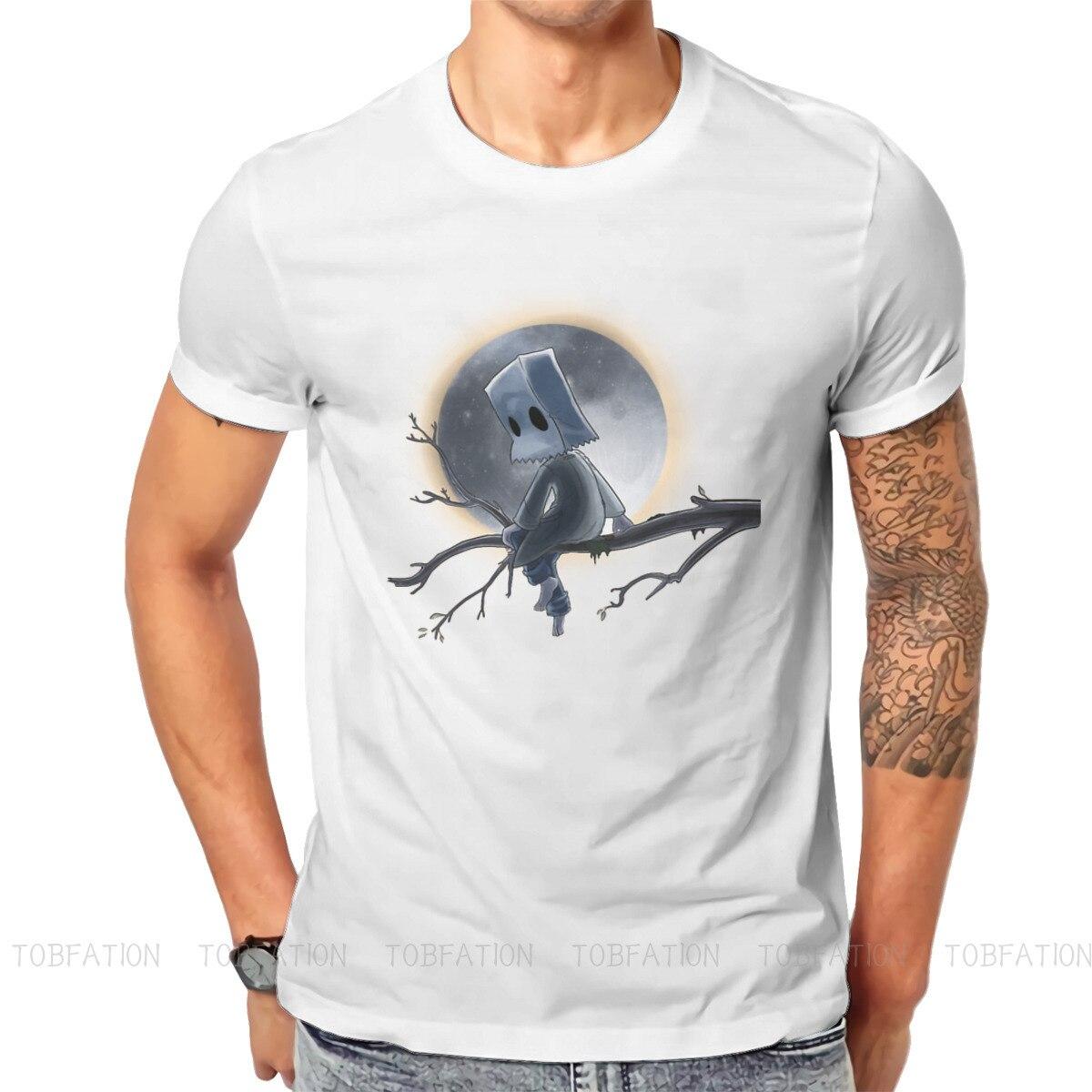 Little incubi Six Nomes Runaway Kid gioco TShirt per uomo Mono Under the Moon felpe Basic T Shirt alta qualità Fluffy