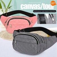 Riñonera deportiva a la moda para mujer, bolso de pecho Unisex, con cinturón de viaje, con bolsillo, 2021