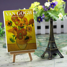 Painting Starry Night Van Gogh postcard  artwork sunflower gift card 30 sheets/set цена